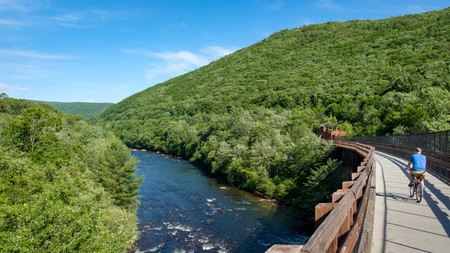 Enjoy the scenic beauty and trails around Jim Thorpe, one of Pennsylvania's must-visit towns