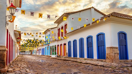 Colonial-era architecture remains a strong feature of the city of Paraty