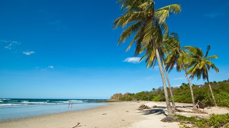 Playa Guiones in Nosara is one of the top surfing beaches in Costa Rica