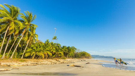 Playa Santa Teresa is a perfect spot for surfers of all levels