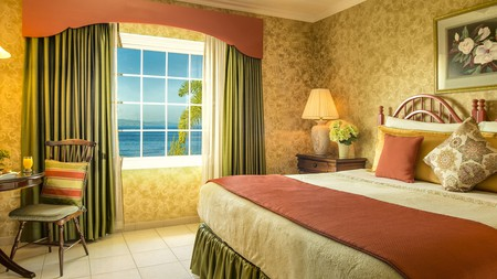 Even guests on a budget can enjoy a comfortable stay with stunning sea views