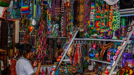 Find artisanal goods at La Ciudadela in Mexico City