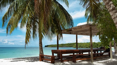 Isla Barú, south of Cartagena, is home to several gorgeous beaches