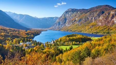 Lake Bohinj, in Slovenia, is one of the most scenic hidden spots in central Europe