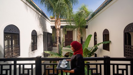 Riad 72 provides a traditional yet luxurious living experience in Marrakech