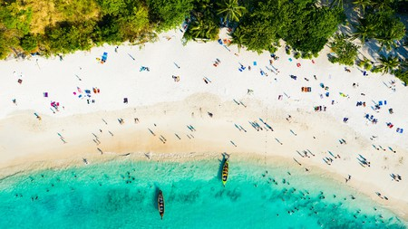 Crystalline waters, white sands and lush palm forests are a common site on Thailand's beaches