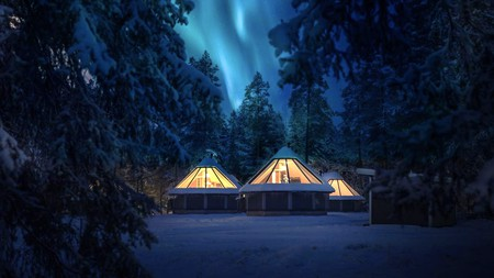 Stay in the igloos at Pyhän Asteli for easy access to one of the top national parks in Finaland, Pyhä-Luosto