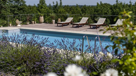Slow Village Château des Forges offers a retreat-like feel, just a 10-minute drive to Angers centre