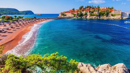Sveti Stefan is one of Montenegro's most exclusive luxury resorts
