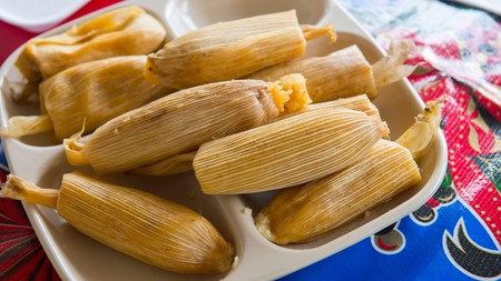 Tamales, stuffed corn or banana leaves, are among the best known Mexican street food dishes