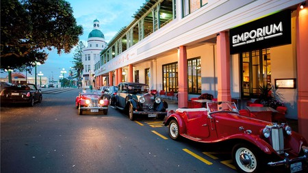 Holiday in style at the historic Art Deco Masonic Hotel in Napier, New Zealand