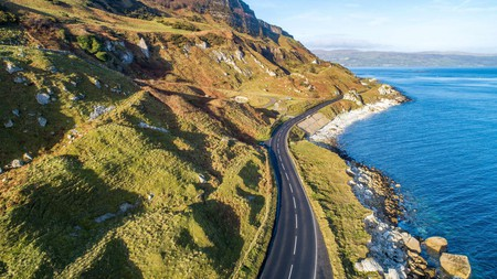 Take the scenic route along the Causeway Coastal Route