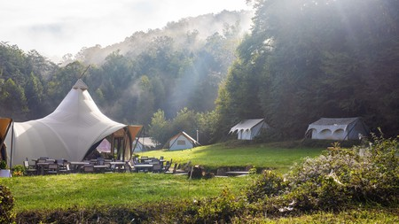 Under Canvas Great Smoky Mountains offers a glamping experience unlike any other