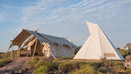 Under Canvas Zion offers high-end glamping in the dramatic environs of Zion National Park, Utah