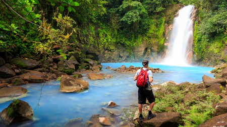The ethereal Rio Celeste in the Central Highlands is well worth the hike