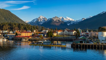Sitka is only accessible by sea or air