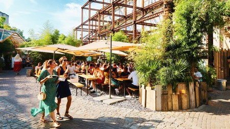 With 500 seats and 40 vendors, there's a lot to enjoy at Mercato Metropolitano, near Elephant and Castle just south of the river