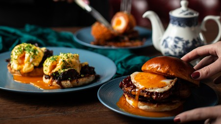 Brunch at the Duke's Umbrella is a real feast