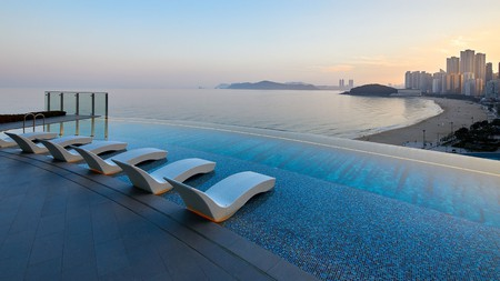 Get a flavour of Busan with a view from an infinity pool