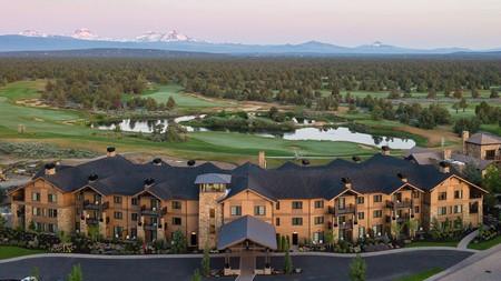 Pronghorn Resort combines luxury hotel amenities with stunning views