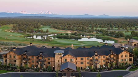 At Pronghorn Resort, you can play some golf before having a massage