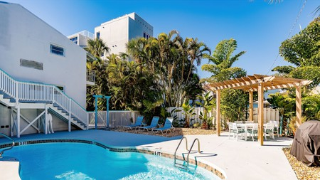 The Inn on Siesta Key is one of the hotels that can boast having one of the best beaches in the US in its backyard