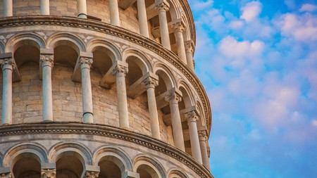 The Leaning Tower is the most famous landmark of Pisa, Italy