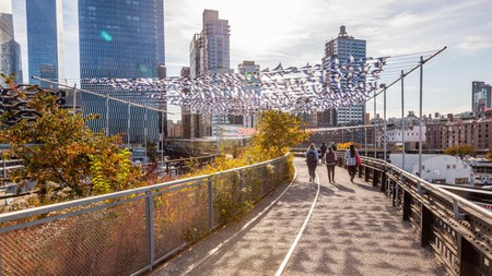 New York's best regeneration project, the High Line gives an elevated view of the city