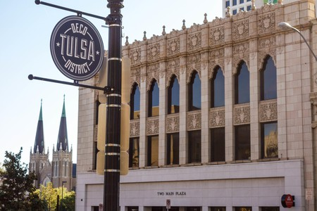 Strolling through Tulsa's Art Deco district doesn't cost a thing