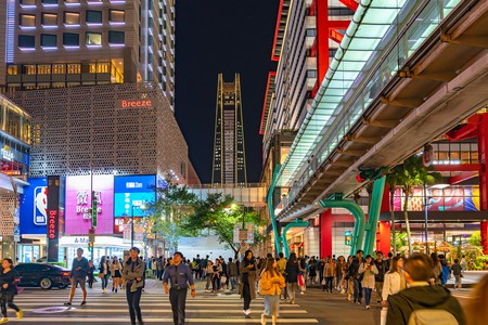 Xinyi Special Commercial Center is just one of the diverse sights to check out in Taipei