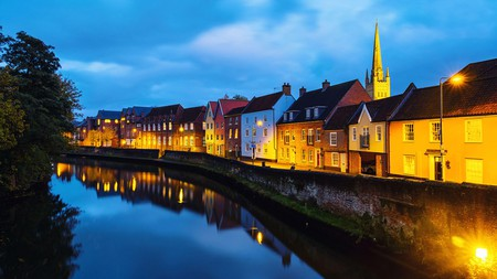 Norwich boasts impressive medieval architecture and is also a perfect base for exploring Norfolk's scenic countryside