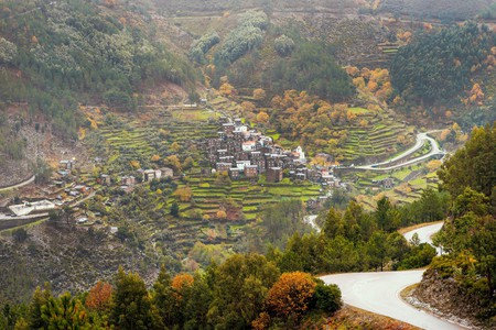 The village of Piodao is a popular base with visitors to the Serra da Estrela in Portugal