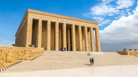 Anıtkabir is an impressive example of the Second National Architectural Movement
