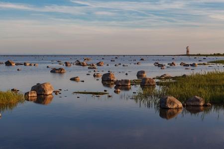 The rocky coastline of Saaremaa lends the island a rugged beauty