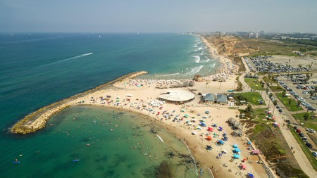 Herzliya, Israel, is known for its picturesque white-sand beaches
