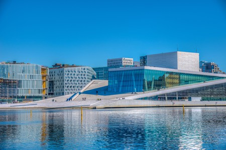 You can't miss a visit to Oslo's Opera House on a visit to Norway's capital