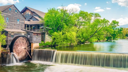 The Old Mill, on Pigeon River, is all part the rustic charm of this Tennessee gem