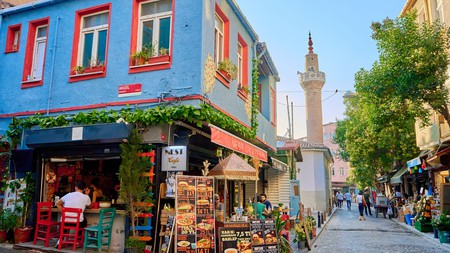 Istanbul is packed with atmospheric streets, squares and alleys