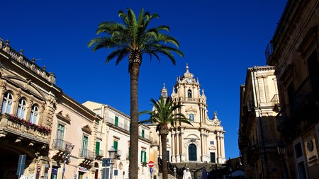 The Duomo di San Giorgio in Ragusa is one of many beautiful cathedrals in southeast Sicily