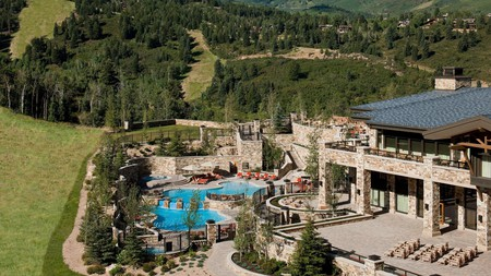 Mountain living is made easy at the luxurious St. Regis Deer Valley