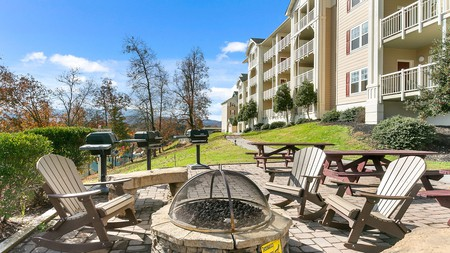 Sunrise Ridge Resort will feel like a home away from home, complete with a barbecue area