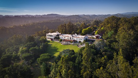The hilltop Chaminade Resort pays homage to California's mission history and offers scenic views of Monterey Bay