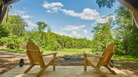 A unique stay in one of New York's idyllic camping sites