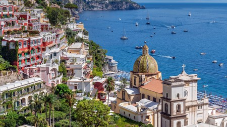 Book a stay in Positano and you will find yourself minutes away from the beach
