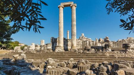 Make sure to visit the Apollo Temple in Didyma, Turkey