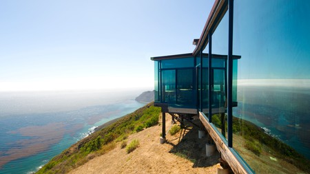 Dining at Post Ranch Inn in Big Sur, California, is served with sensational ocean views