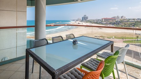 Many of Herzliya's finest places to stay offer sweeping Mediterranean views