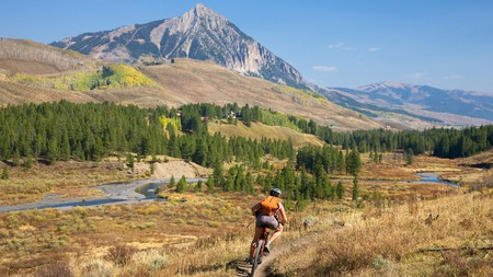 Enjoy the great American outdoors on two wheels, including a trail through Colorado