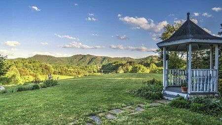 This beautiful property has acres upon acres of rolling landscape