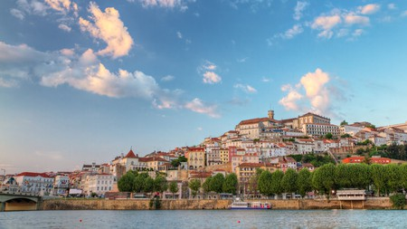 The riverside city of Coimbra is home to the oldest university in Portugal